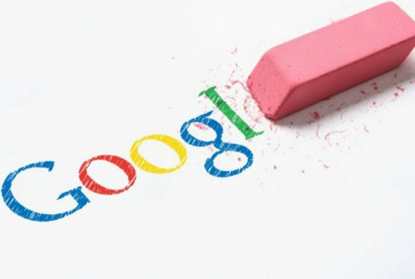google zoekresultaten verwijderen