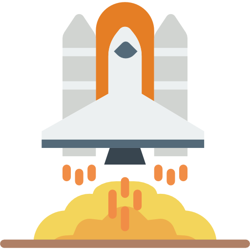 raket lancering icon